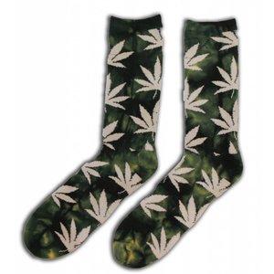 Holland sokken Heren - Sokken met Wietblaadjes