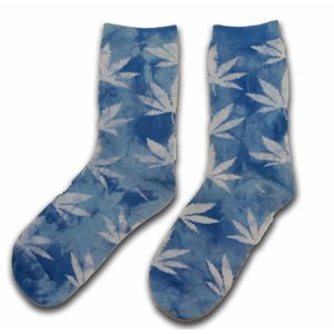 Holland sokken Socks with Cannabis Leaves