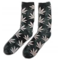 Robin Ruth Fashion Men - Socks with Cannabis Leaves
