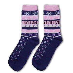 Holland sokken Dames sokken - Paars - Roze