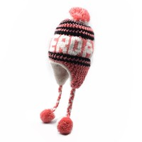 Robin Ruth Fashion Amsterdam hat - Cable pattern - Old pink