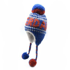 Robin Ruth Fashion Amsterdam hat - Cable pattern - Blue