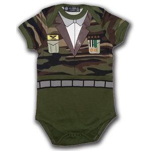 Typisch Hollands Baby Body - Armee-Druck