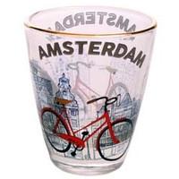 Typisch Hollands Schnapsglas - Bike - Amsterdam