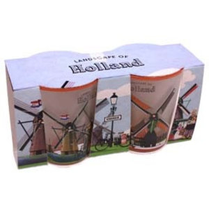 Typisch Hollands Shotglass set - Mills - Holland