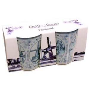 Typisch Hollands Shotglass set - Mills - Delftware