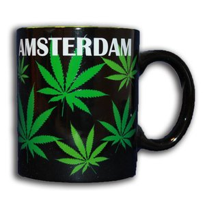 Typisch Hollands Becher Cannabis in Giftbox