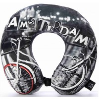 Robin Ruth Fashion Neck Pillow - Bicycle - Amsterdam