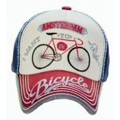 Robin Ruth Fashion Cap Amsterdam-Bike -Typical Dutch