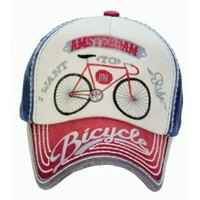 Robin Ruth Fashion Cap Amsterdam-Bike -Typical Dutch