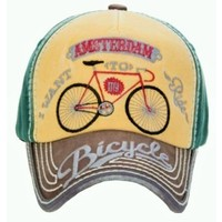 Robin Ruth Fashion Cap Amsterdam - Bike - Typically Dutch
