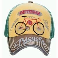 Robin Ruth Fashion Cap Amsterdam - Fahrrad - typisch niederländisch