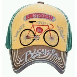Robin Ruth Fashion Cap Amsterdam - Bike - Typically Dutch