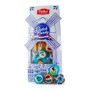 Typisch Hollands Dutch Candy - Windmolen verpakking (Delfts)