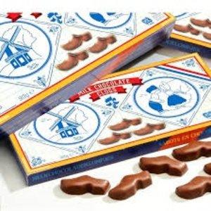 Typisch Hollands Schokoladen-Clogs