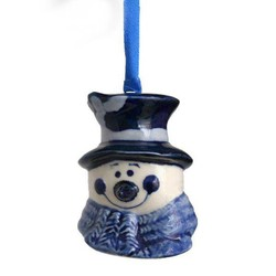 Delft blue Christmas tree hangers