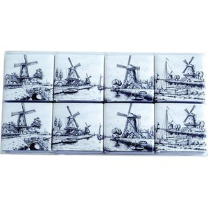 Typisch Hollands Chocolate tiles Delft Blue