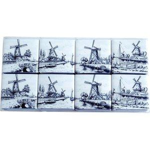 Typisch Hollands Delft Blue chocolate tiles