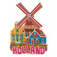 Typisch Hollands Magnet Holland-Windmühle (Rotation)