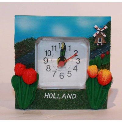 Typisch Hollands Tafel-Buroklokje