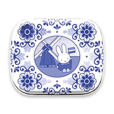 Typisch Hollands Miffy Minimints - Tin Delft blue