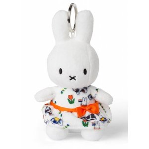 Nijntje (c) Miffy Keyring - Dutch dress