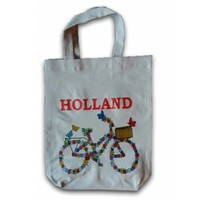 Typisch Hollands ECO Shopper - Bicycle - Flowers
