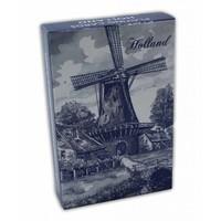Typisch Hollands Speelkaarten Delfts blauw