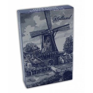 Typisch Hollands Playing cards Delft blue