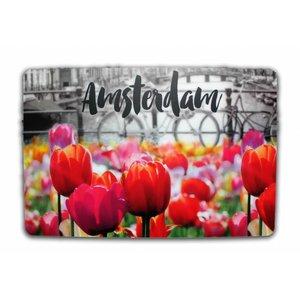 Typisch Hollands Placemat Tulips - Amsterdam
