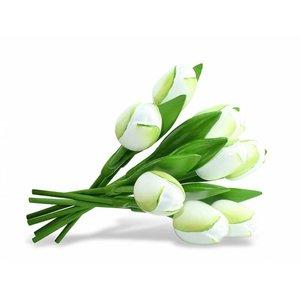 Typisch Hollands Bouquet of Wooden Tulips