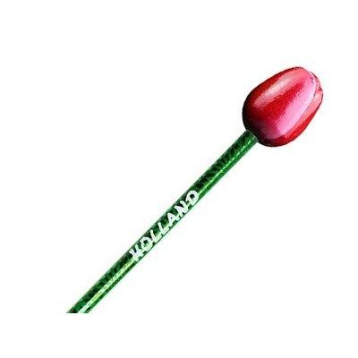 Typisch Hollands Tulip Pencil - Rot - Weiß