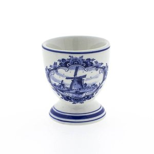 Typisch Hollands Delft blue egg cup - Mill