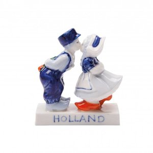 Typisch Hollands Kiss Couple Holland 8 cm - Kisses from Holland