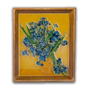 Typisch Hollands Magnet Irises - Vincent van Gogh