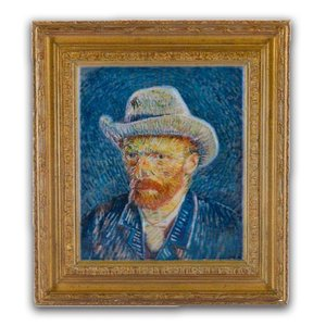 Typisch Hollands Magnet polystone Self-portrait - Vincent van Gogh