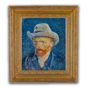 Typisch Hollands Magnetpolystone Selbstporträt - Vincent van Gogh