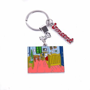 Typisch Hollands Keychain Bedroom - Vincent van Gogh