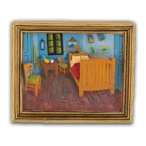 Typisch Hollands Magnet mini painting Bedroom - Vincent van Gogh
