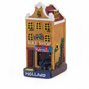 Typisch Hollands Holland huisje Bike shop