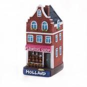 Typisch Hollands Holland huisje Flower shop Holland