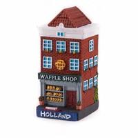 Typisch Hollands Holland huisje Waffle shop