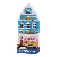 Typisch Hollands Magnet house Ice cream shop Amsterdam
