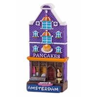 Typisch Hollands Magneet gevelhuisje Pancakes Amsterdam