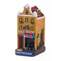 Typisch Hollands Gevelhuisje Bike shop Amsterdam