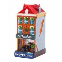 Typisch Hollands Gevelhuisje Coffeeshop Amsterdam