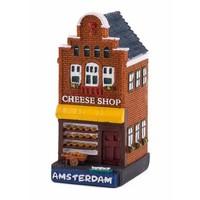 Typisch Hollands Gevelhuisje Cheese shop Amsterdam