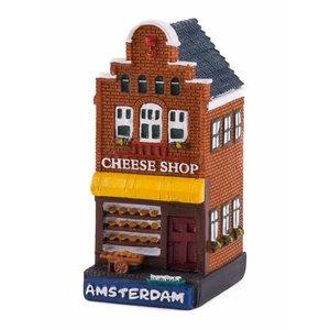 Typisch Hollands Gevelhuisje Käsegeschäft Amsterdam