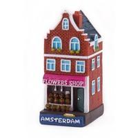 Typisch Hollands Gevelhuisje Blumenladen Amsterdam