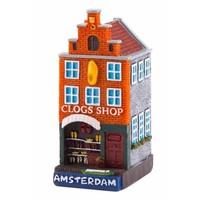 Typisch Hollands Gevelhuisje Clog shop Amsterdam
